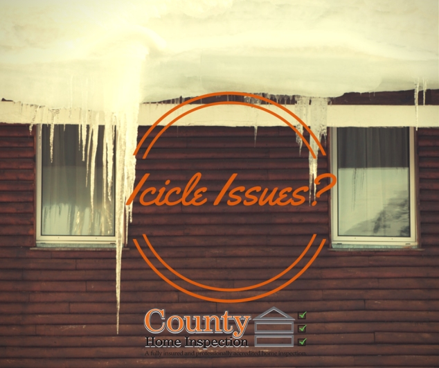 Icicle Issues County Home Inspection