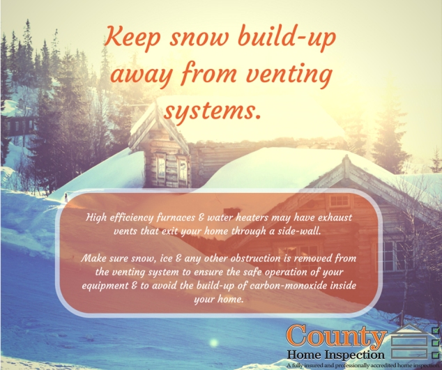 Keep Snow Build Up Away from Venting (2)