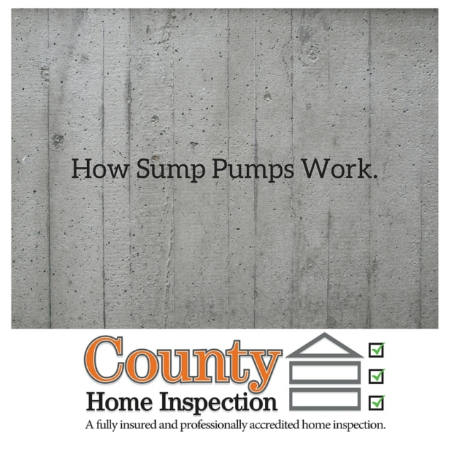 How Sump Pumps Work.